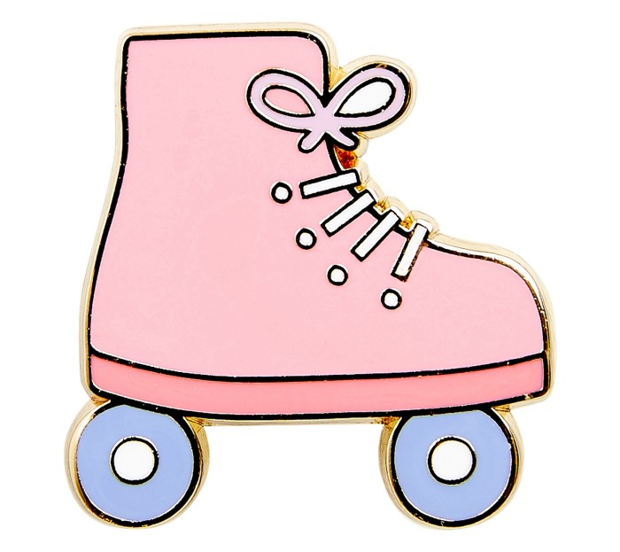 ROLLER SKATE PIN: CUTE  Now US $6.36  W