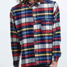 Get Trendy Distressed Flannel Shirts Onl
