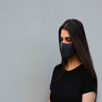 Black Fabric Face Mask for Sale in Austr