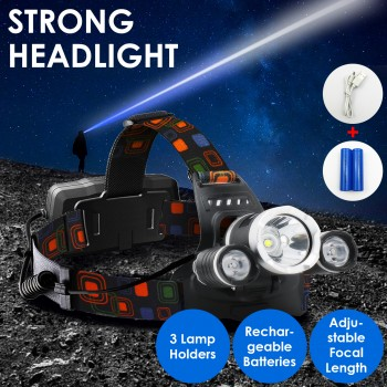 LED Outdoor Headlamp Head Light Head Tor