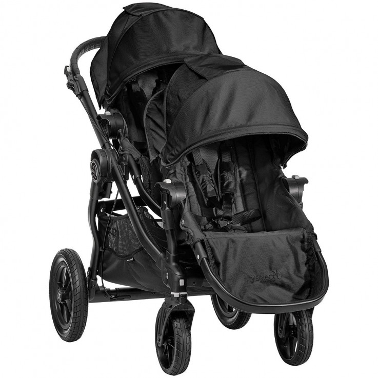Baby Jogger City Select Stroller and Sec