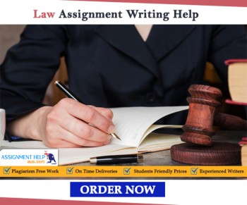 Law Assignment Writing Help from PhD Qualified Academician at AssignmenthelpAUS