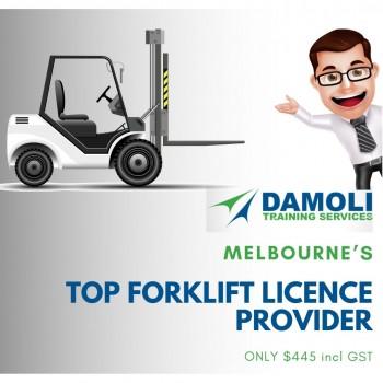 Damoli Melbourne's Top forklift Licence Provider