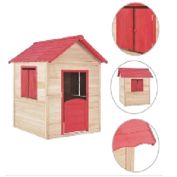 Buy Wooden Cubby Playhouse for Kids