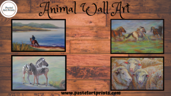 Best Animal Art With Canvas Print