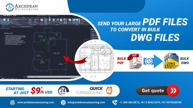 Bulk PDF to DWG  ...