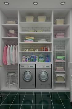 Laundry Cupboards in Dandenong - SK Kitc