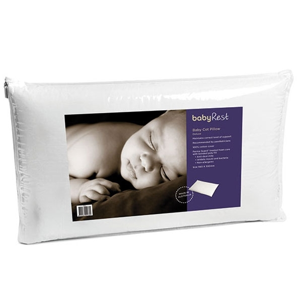 Cot Pillow With Foam Core