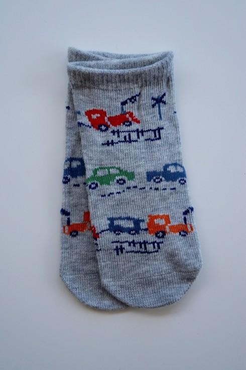 Toshi Socks [Design: Broom Broom][Size: