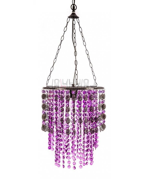 CEILING LAMP WITH HANGING BEADS