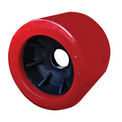 WOBBLE ROLLER - Red, Smooth