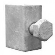 SOCKET BRACKET - Saddle, Bolt & Nut