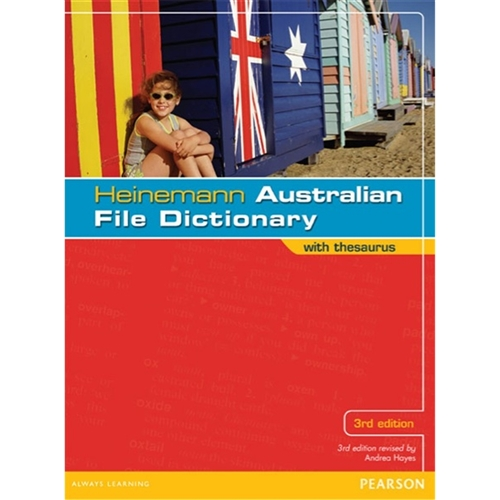 Heinemann Australian File Dictionary wit