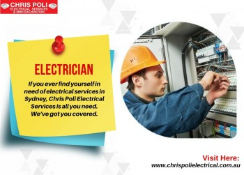 Best Electrician in Springwood | Chris Poli Electrical Services