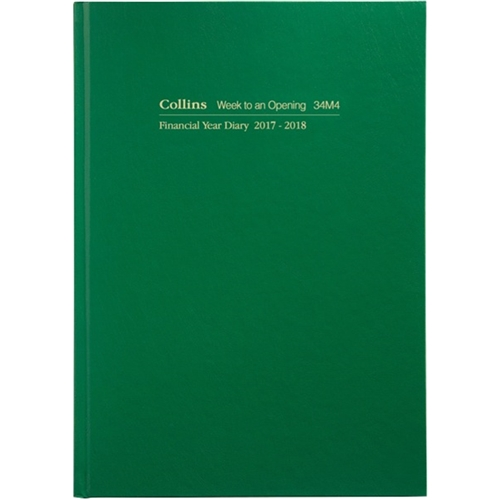Collins Financial Year Diaries A4 Week t