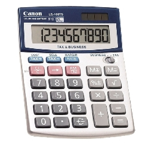 Canon LS100TS 10 Digit Desktop Calculato