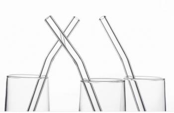 Reusable Eco-Friendly Glass Straws