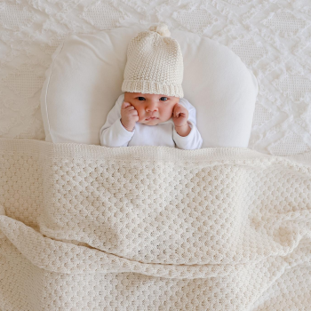 Pure and Premium Cotton Baby Blankets On