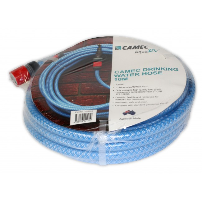 Camec Drinking Water Hose 10m
