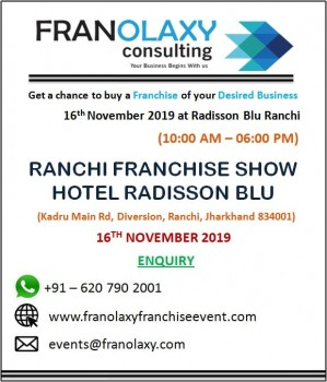 Franchise Opportunities in Ranchi