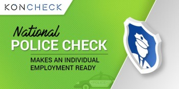 Lodge your National Police check online through KONCHECK