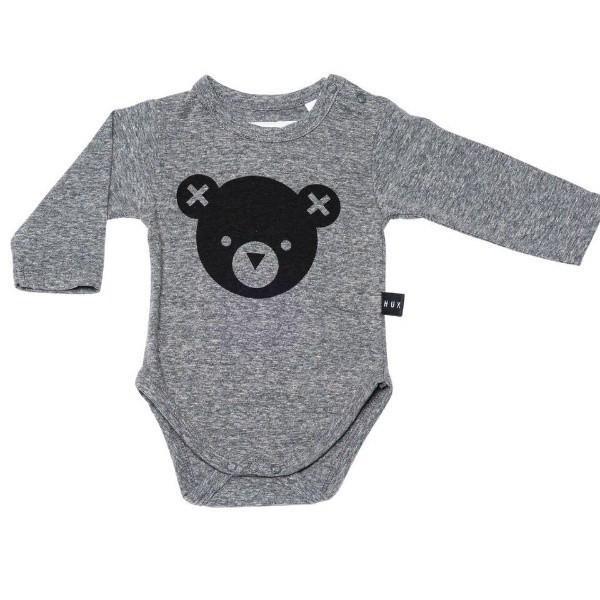 Huxbaby Bear Long Onesie