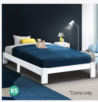 Wooden Simple Bed Price