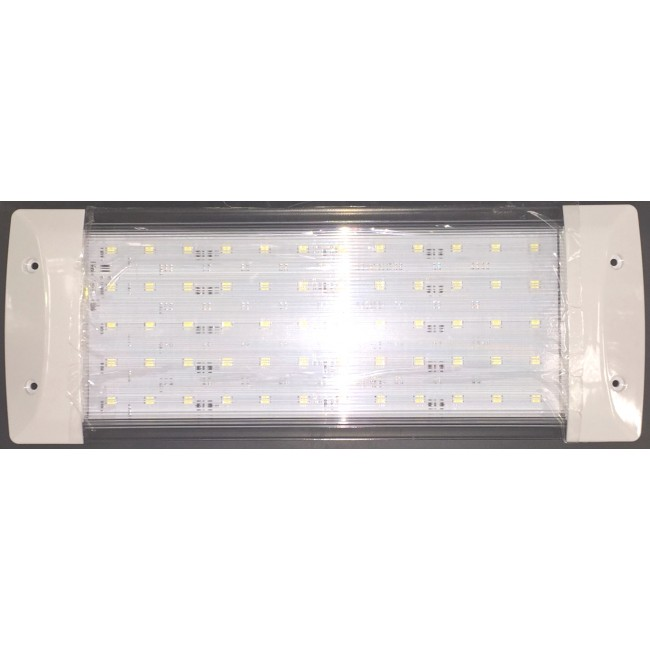 12V Ceiling Light 60 LED White Rectangle