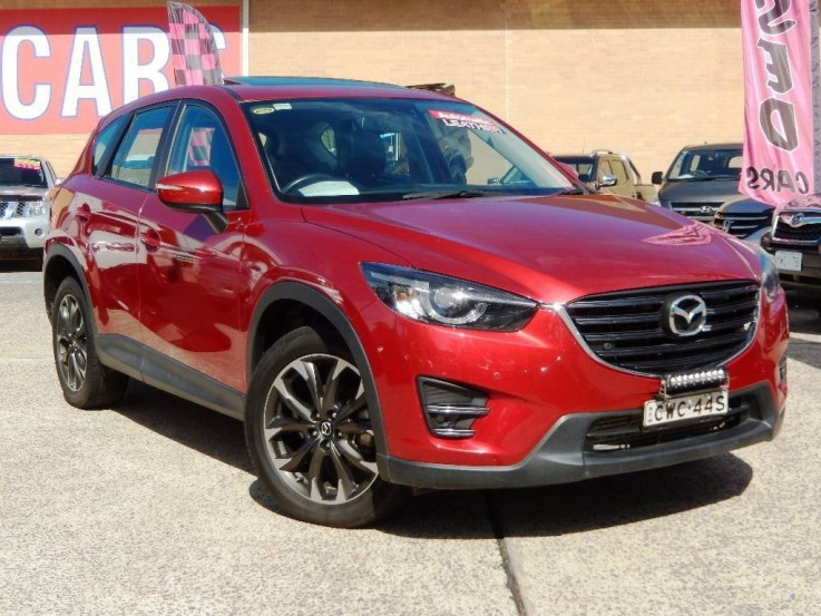 2015 Mazda CX-5 GT Safety 4X4 MY15