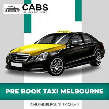 Pre Book Taxi Melbourne