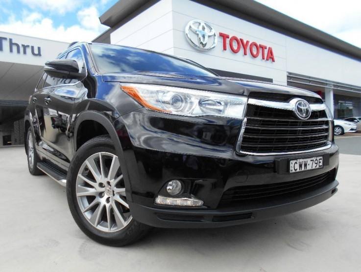 2014 Toyota Kluger Grande 4X4 GSU55R