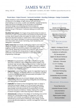 Resume & Cover Letter Package