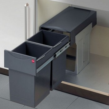 Buy Hailo Slide Out Kitchen Bins Online