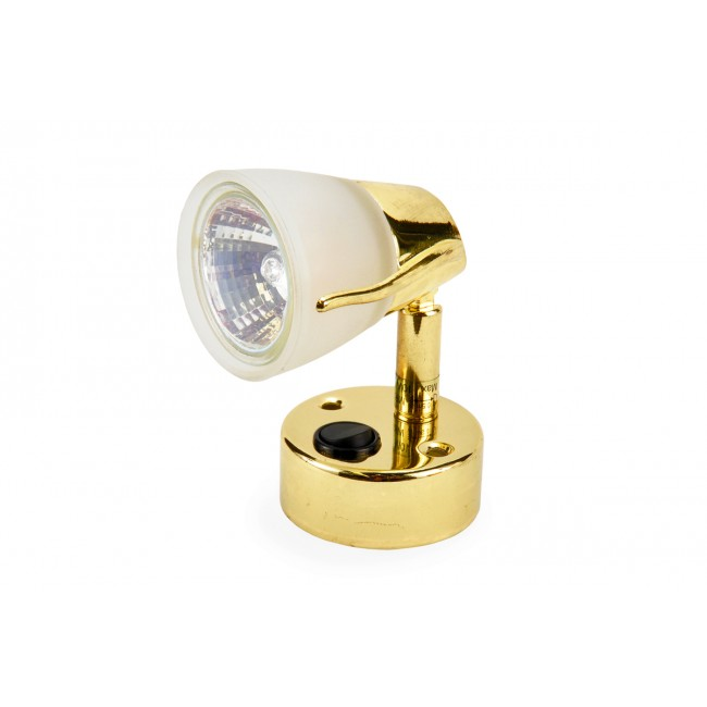 Light Meteor Gold MR16 10W With Switch