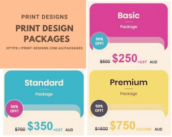 Print Design Packages - Print Design Services