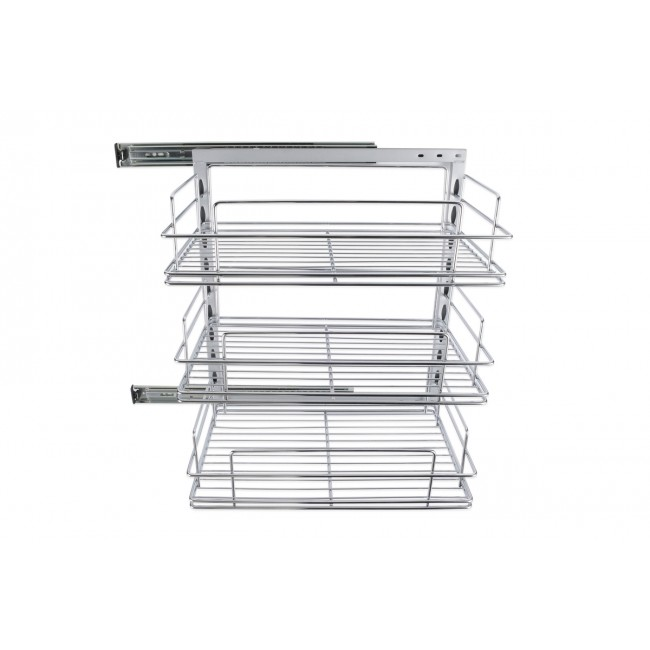 Rollout Pantry & 3 x 260mm Baskets