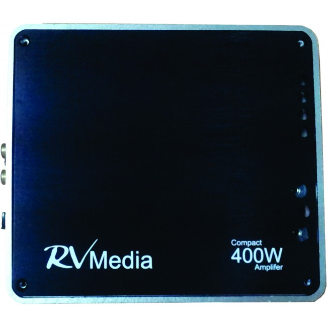 RV Media 400 Watt RV Amplifier 2-Channel