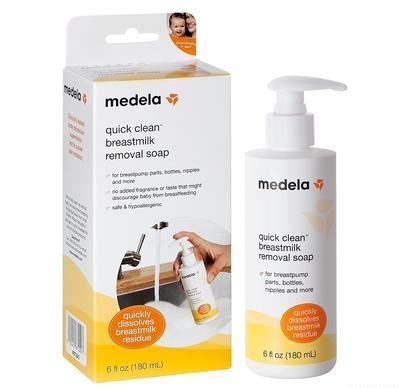 Medela Quick Clean Breastmilk Removal