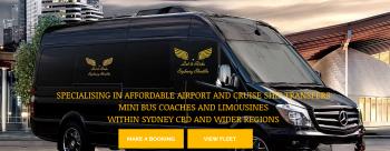 Sydney Cruise Ship Transfer has Cruise Ship Mini Bus Facility -  Let it ride Shuttle