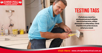 Best Testing Tags in Penrith | Chris Poli Electrical Services