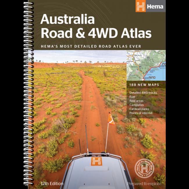 Australia Road & 4WD Atlas(Spiral Bound)