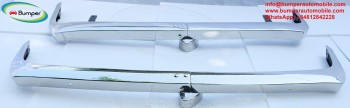 Stainless steel bumpers for BMW 700 from