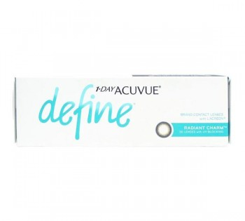 1-Day Acuvue Define Radiant Charm Contac