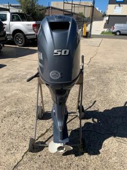 Used Yamaha 50HP 4-Stroke Outboard Motor