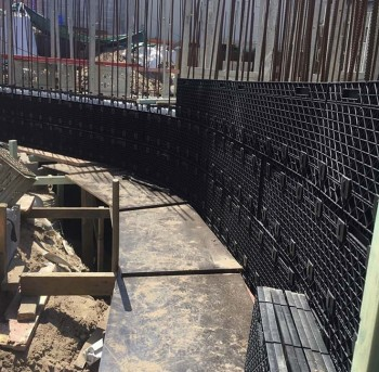 Reusable formwork solution