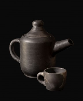 Smoked Clay Tea-Set
