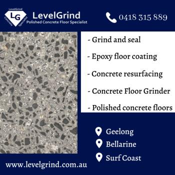 Concrete Floor Grinder in Geelong & Surf