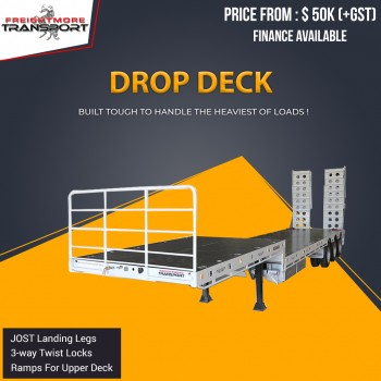 Brand New Drop Deck Trailer For Sale