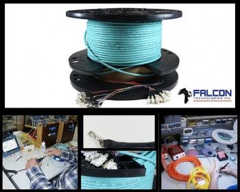 Pre Terminated Fiber Optic Cable Assembl