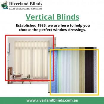 An Extensive Range of Vertical Blinds